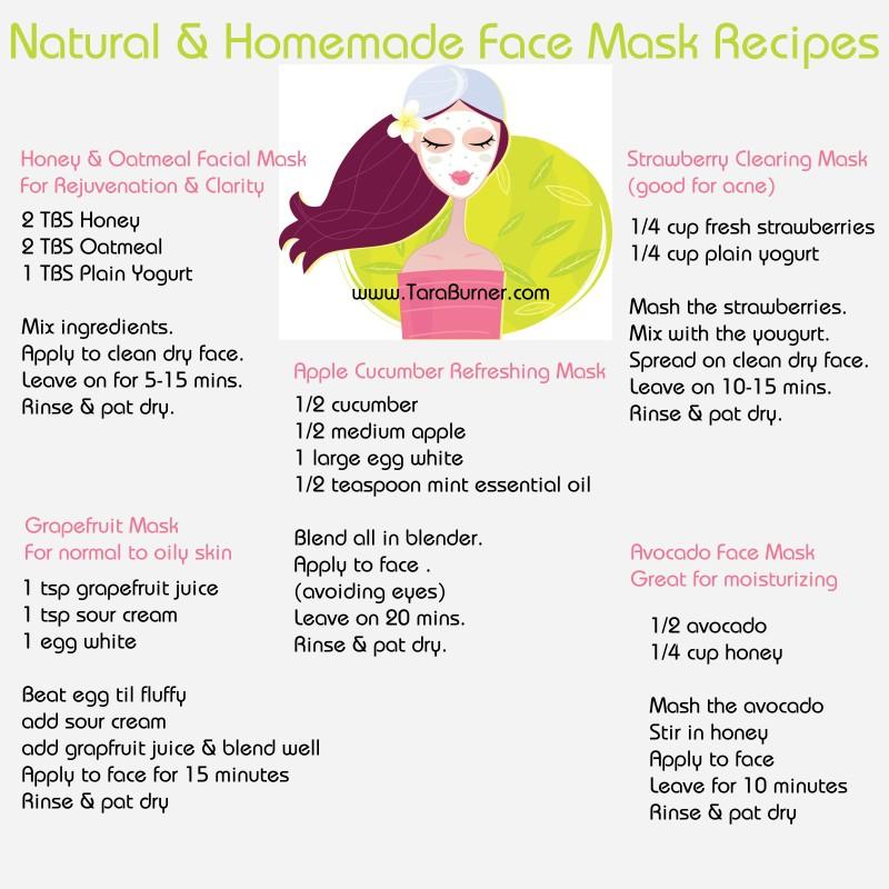 natural-facial-masks-recipes